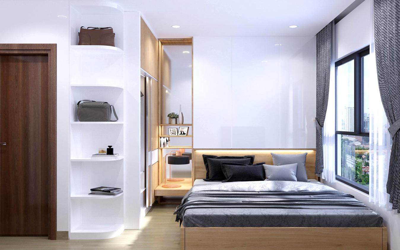 Thiết kế phòng ngủ chung cư bcons green view