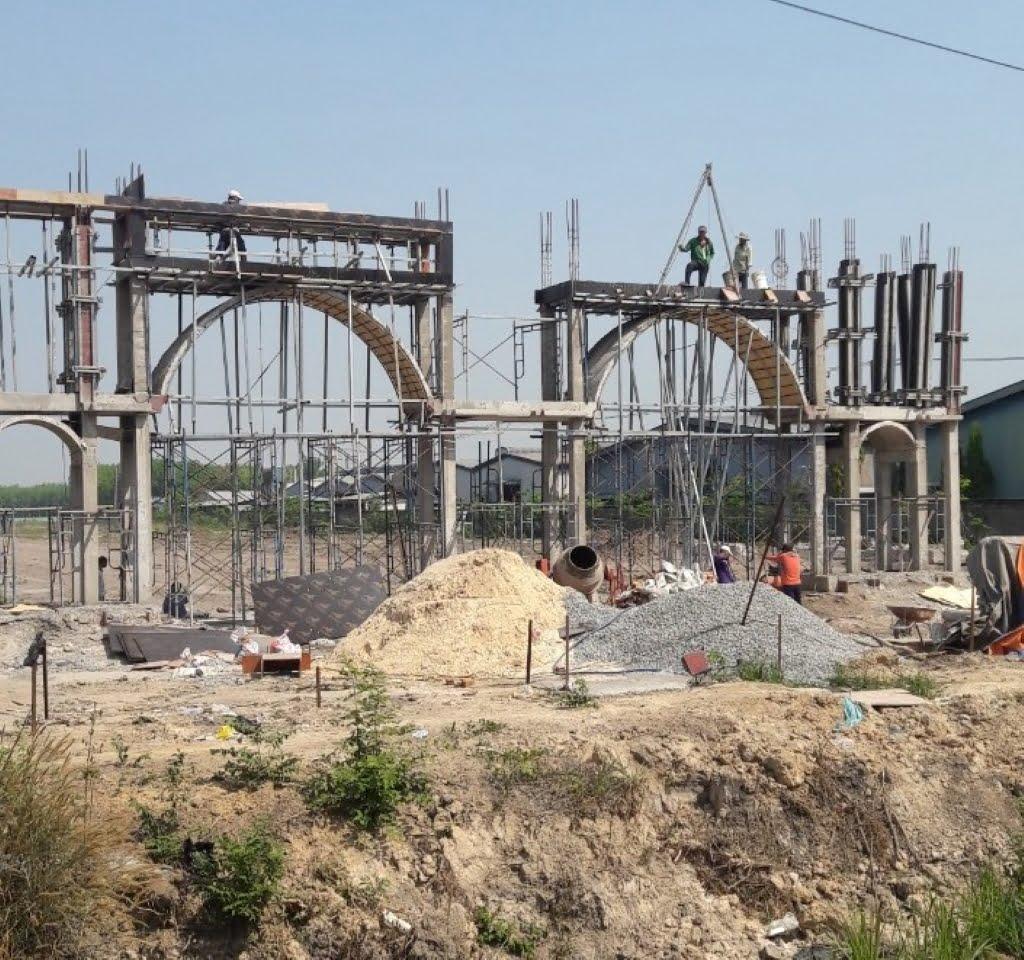 cập nhập tiến độ thi công của dự án thăng long residence