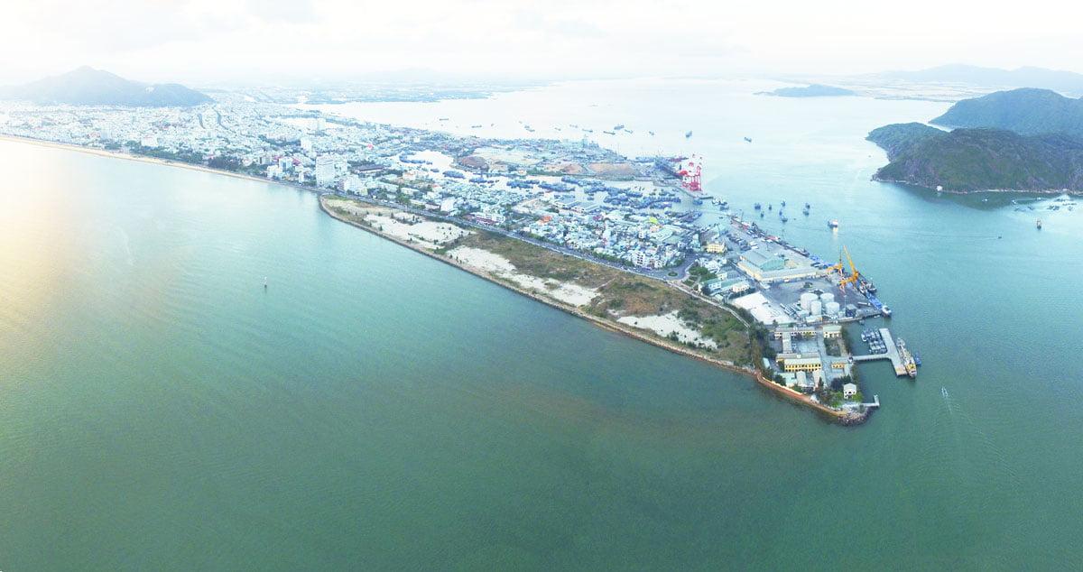Vị trí Dự án Mũi Tấn Quy Nhơn Bình Định