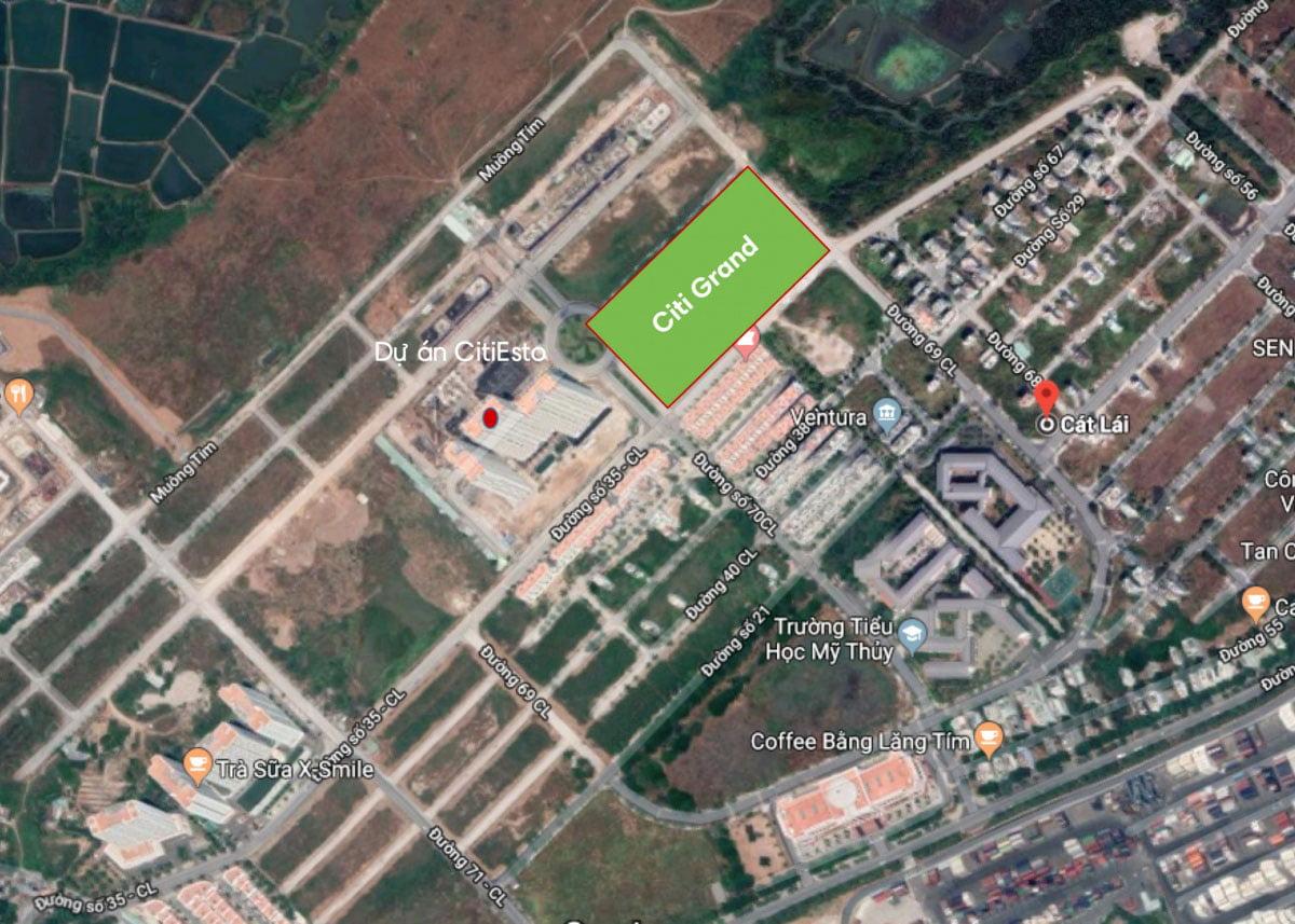 Vị trí Thực tế Dự án Căn hộ Citi Grand Quận 2