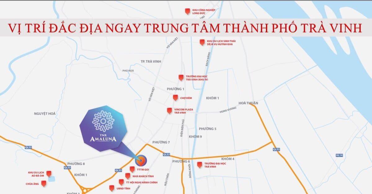 Vị trí TNR Amaluna Trà Vinh