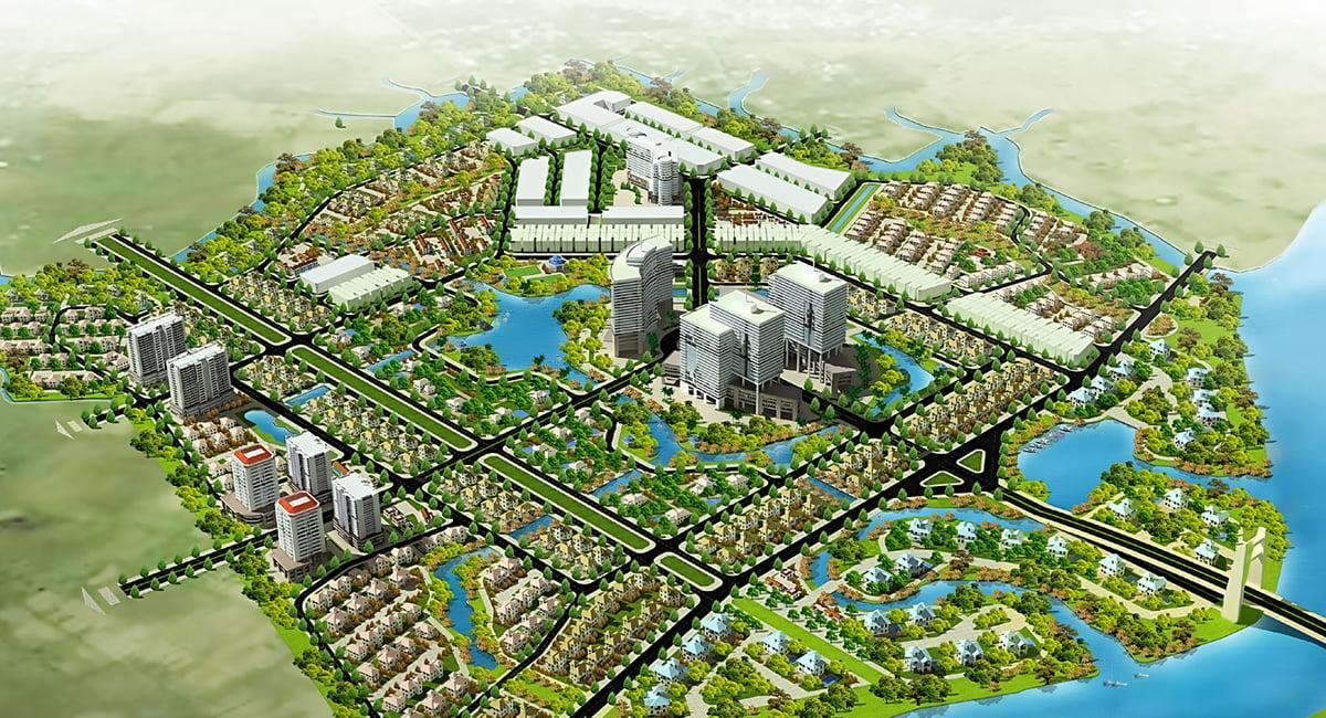Phối cảnh Dự án The Green Village Bình Chánh