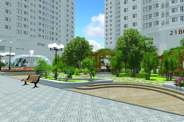 Tiện ích công viên nội khu Green square dĩ an city