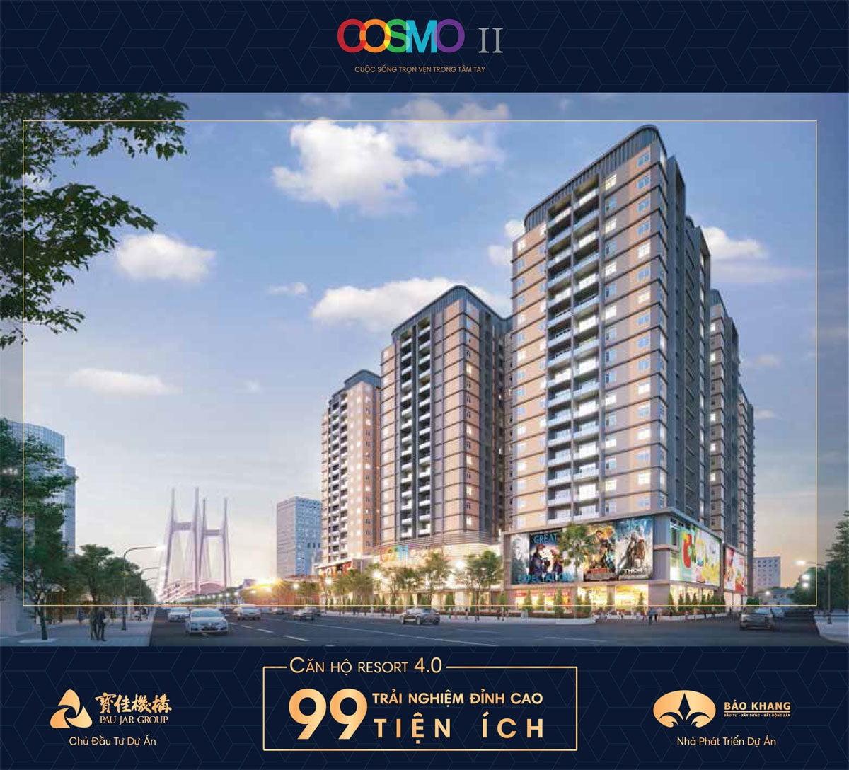 Dự án Căn hộ Cosmo II