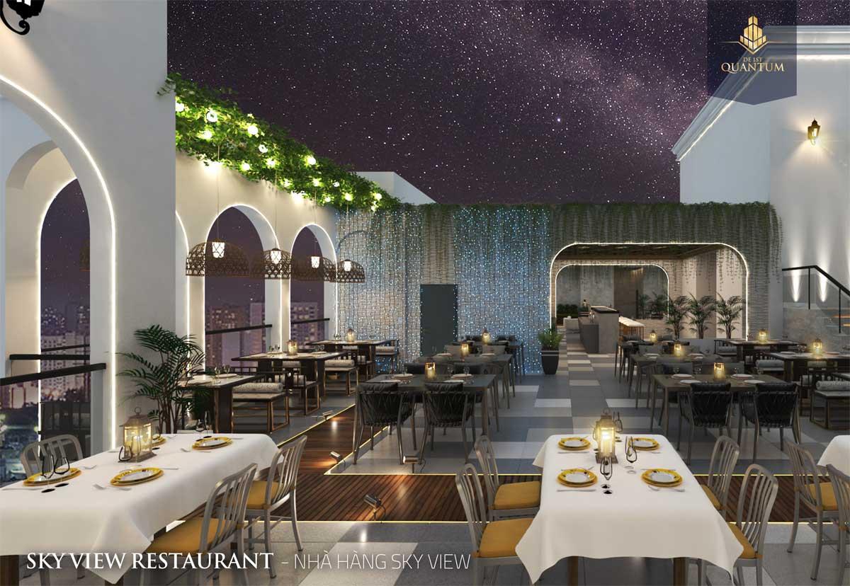 Khu nhà hàng Dự án Căn hộ De 1st Quantum Huế