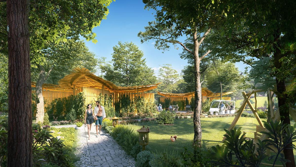 Spa giữa Rừng Nhiệt Đới tại Dự án Biệt thự Perolas Villas Resort Bình Thuận