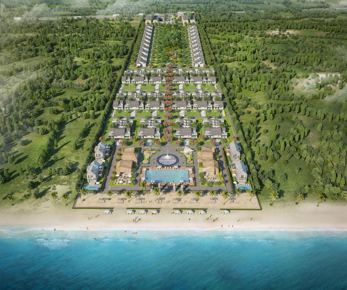 Phối cảnh Dự án Perolas Villas Resort Bình Thuận