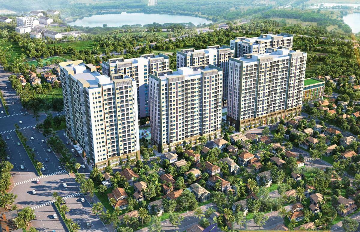 Phối cảnh dự án căn hộ đa phú bình dương