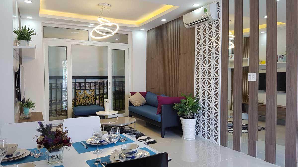 Phòng khách Căn hộ ViVa Plaza