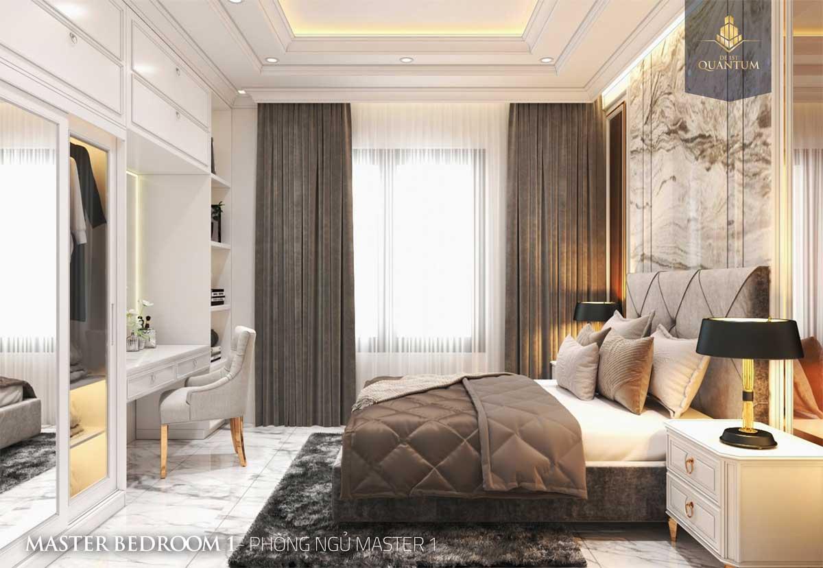 Thiết kế căn hộ dự án De 1st Quantum