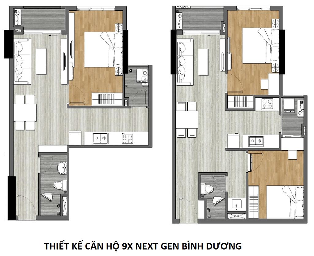 Thiết kế dự án căn hộ chung cư 9x Next Gen