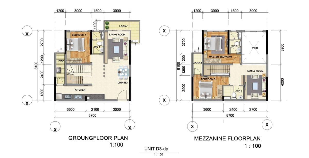 Thiết kế căn hộ chung cư Bình dương Grand View