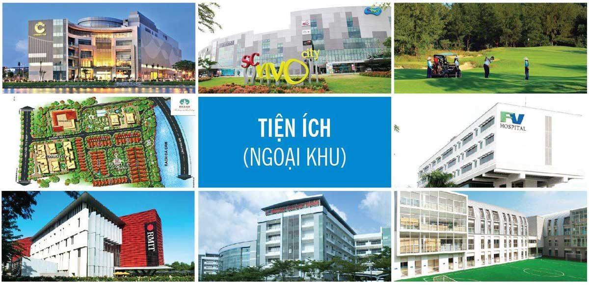 Tiện ích ngoại khu Dự án Căn hộ Chung cư Cosmo City II Nguyễn Thị Thập Quận 7