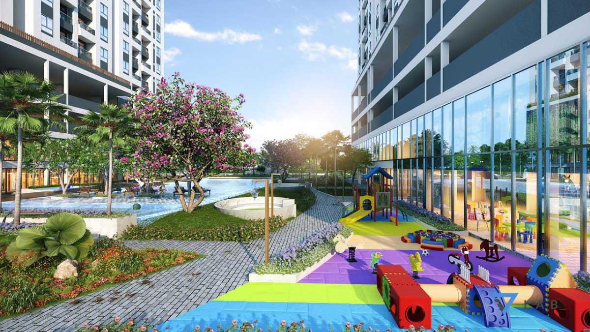 Sân chơi trẻ em Dự án Căn hộ 9X Next Gen Bình Dương