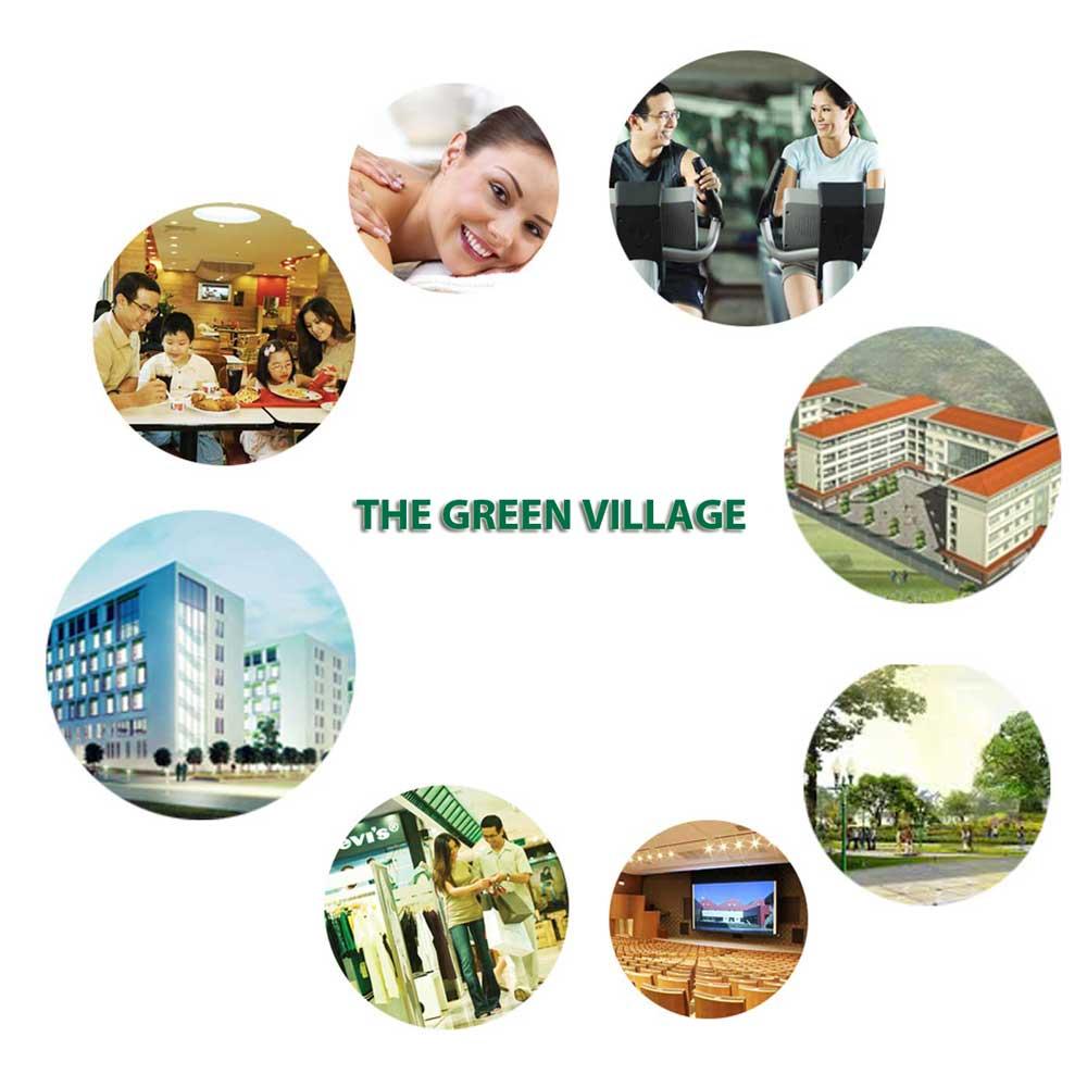 Liên kết vùng của dự án khu đô thị The Green Village Bình Chánh