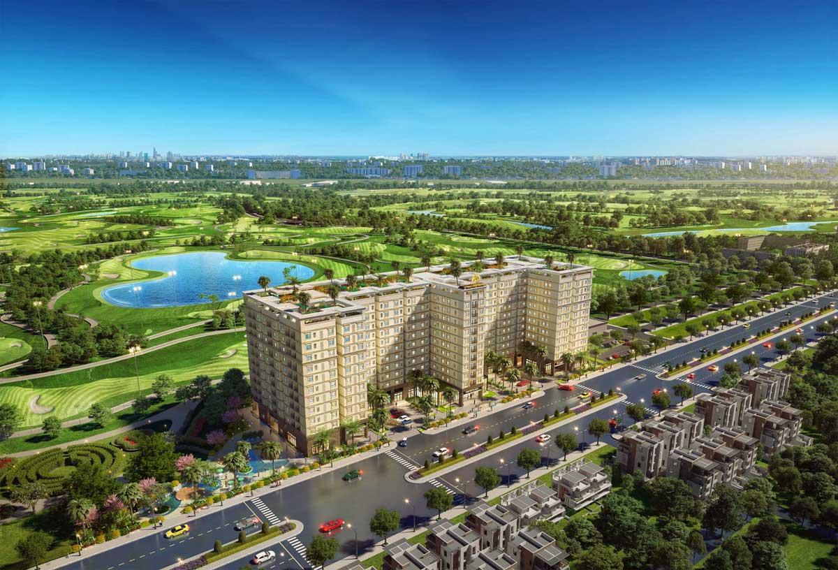 Toàn cảnh Dự án Căn hộ Chung cư Golf View Palace Tân Bình