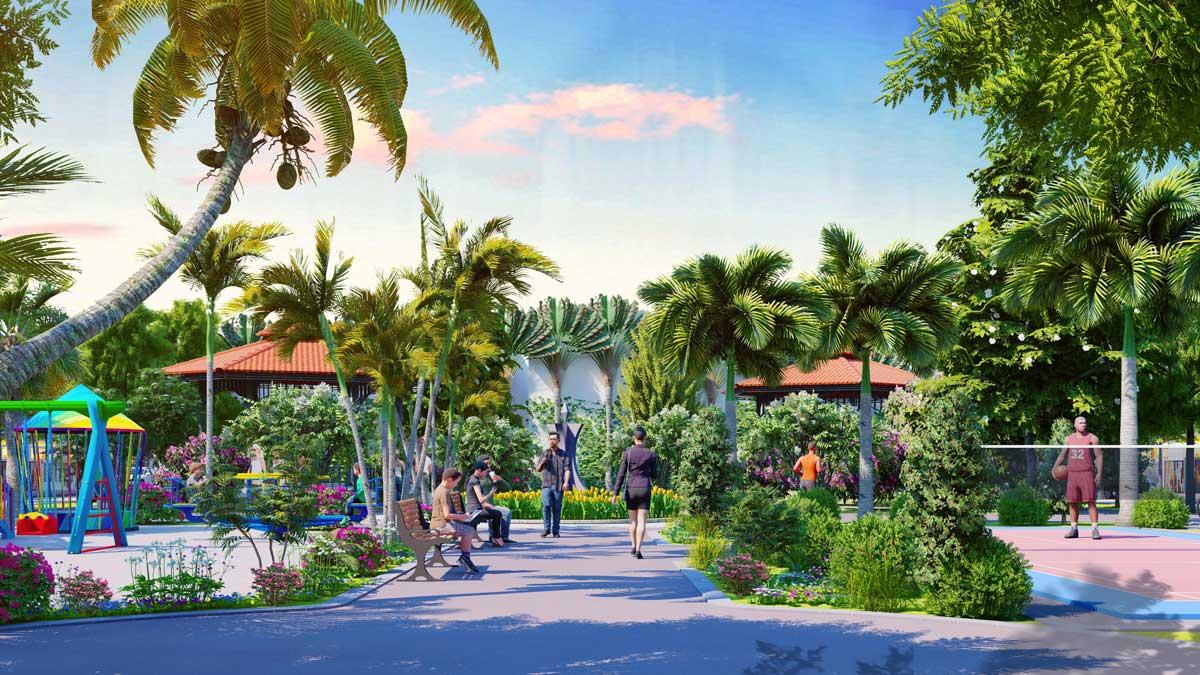 Khu công viên Dự án Nam An New City Bình Dương