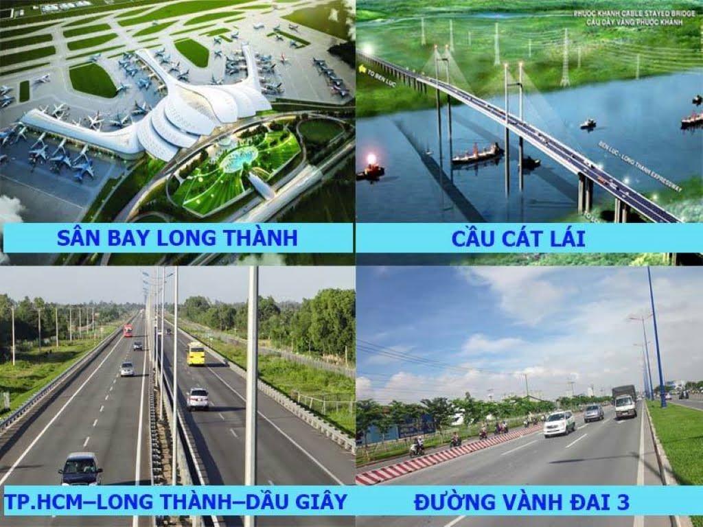 Hạ tầng giao thông huyện long thành