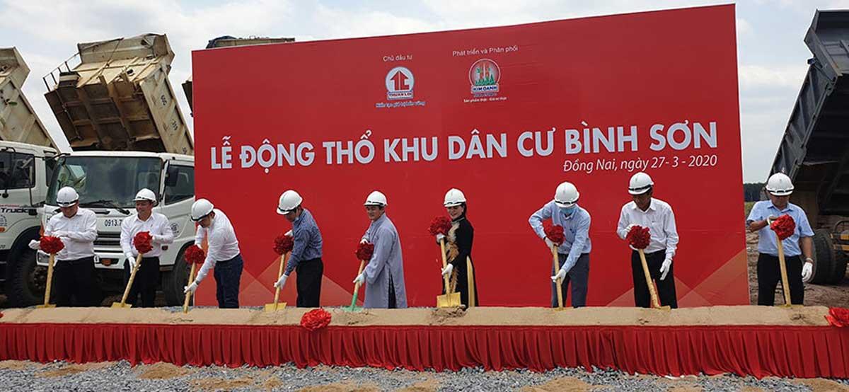 Lễ Động thổ Khởi công dự án Khu Dân cư Bình Sơn