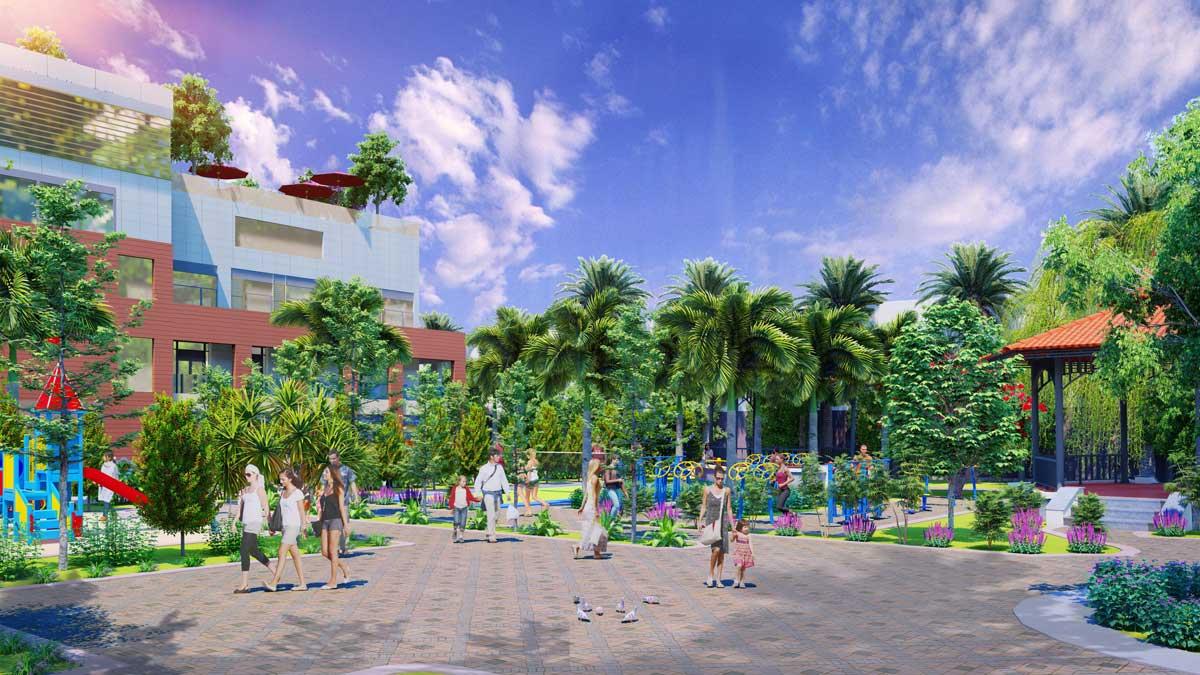 Khu vui chơi trẻ em Dự án Nam An New City Bình Dương
