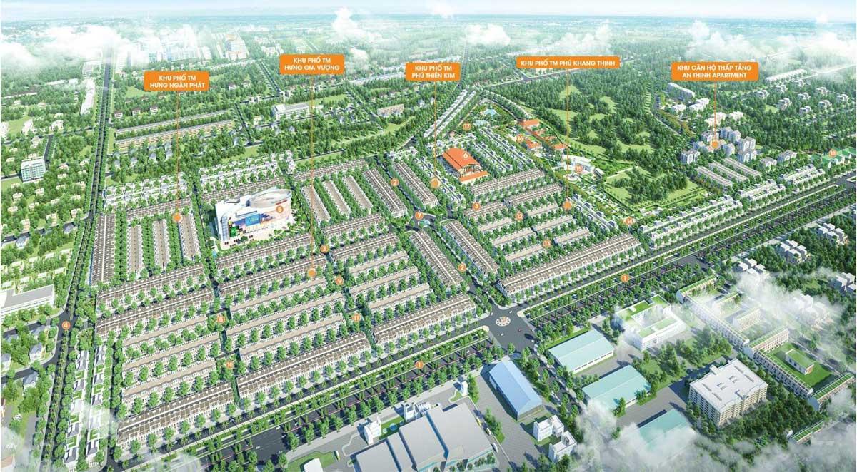 Mặt bằng Dự án Đất nền Mega City 3 Long Thành