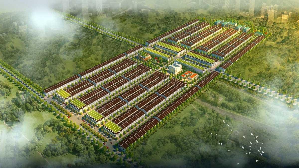 Phối cảnh Dự án Nam An New City Bình Dương