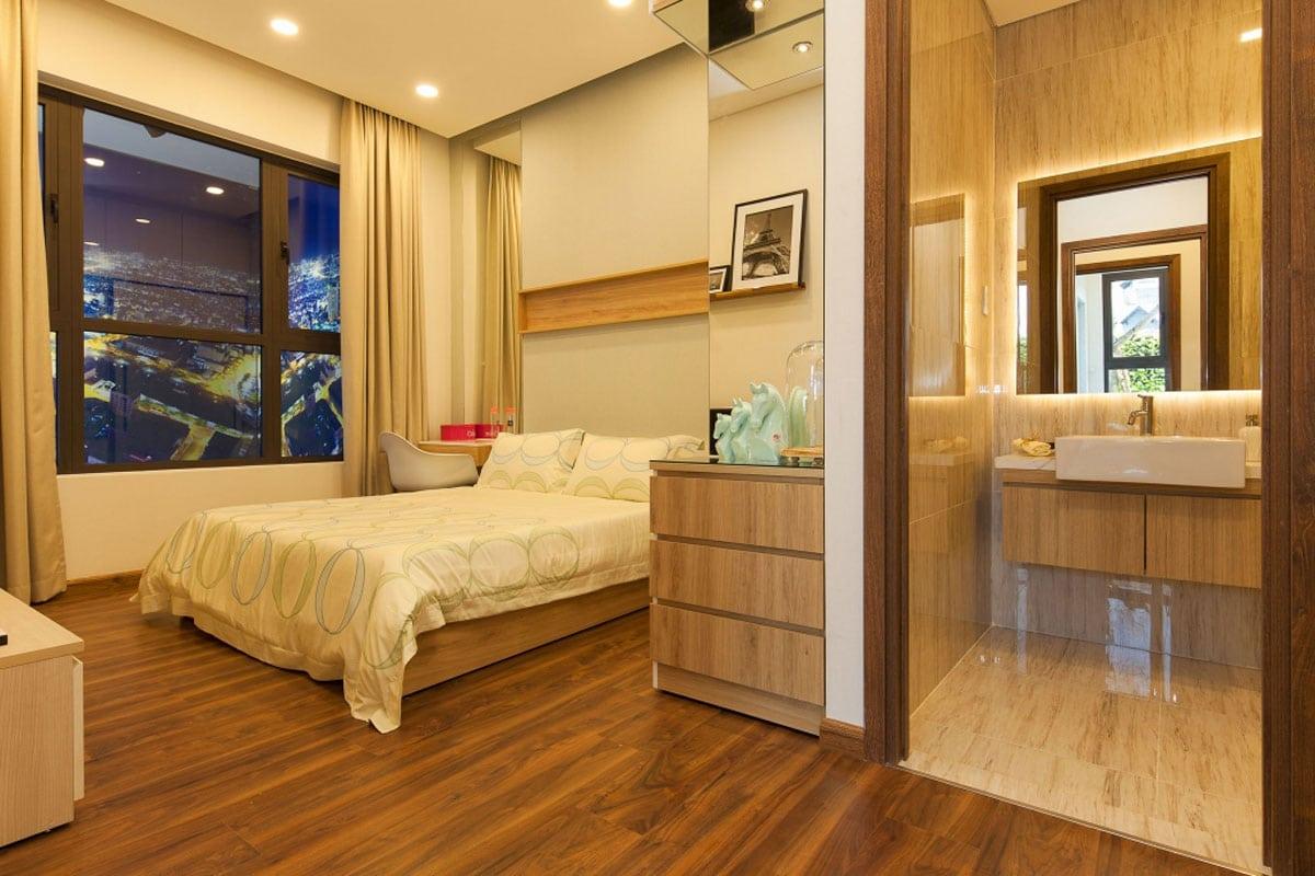 Phòng ngủ lớn Căn hộ Hưng Lộc Phát Complex Quận 7