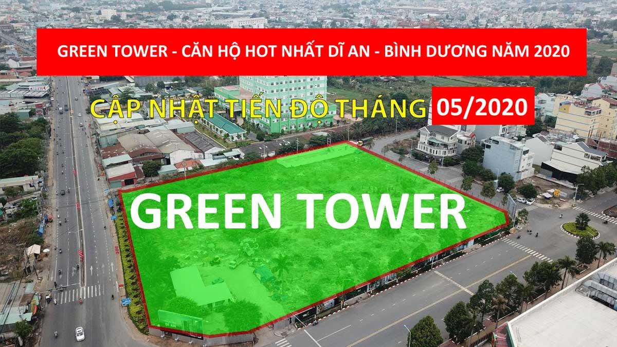 Khu đất Dự án Căn hộ Green Tower Dĩ An Bình Dương