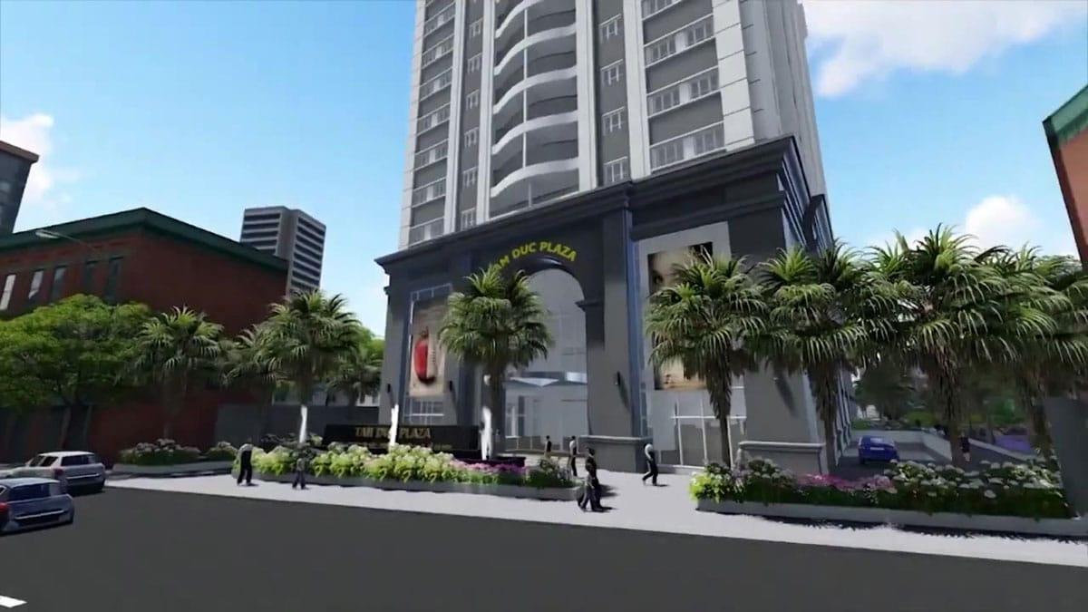 Khu trung tâm thương mại Dự án Căn hộ Tam Đức Plaza Quận 5