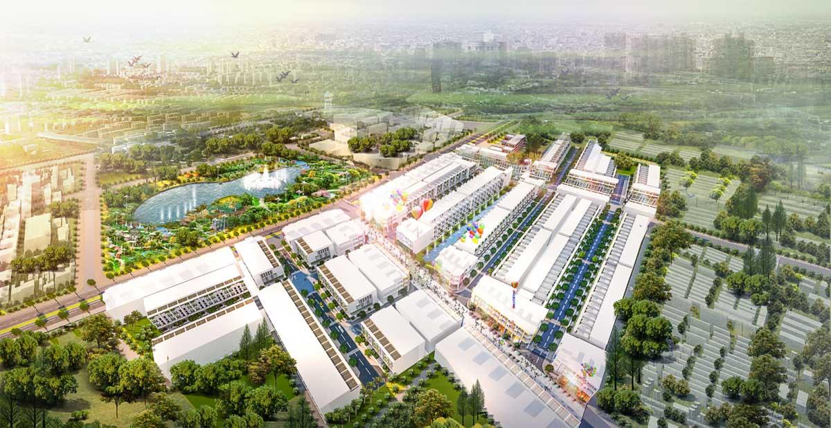 Phối cảnh Dự án đất nền Lic City Phú Mỹ Bà Rịa Vũng Tàu
