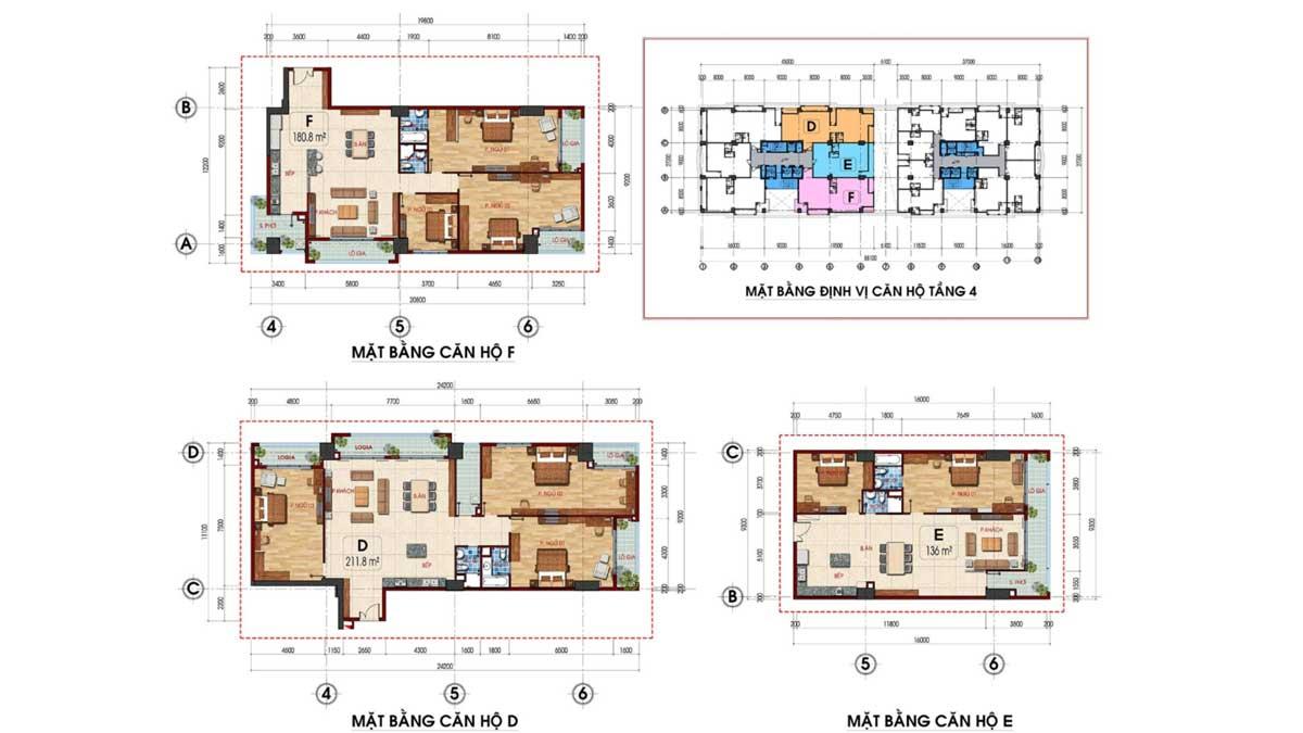 Thiết kế Căn hộ Tam Đức Plaza Quận 5