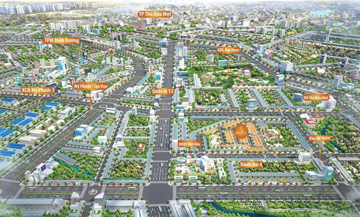 Toàn cảnh Dự án Bình Dương Avenue City