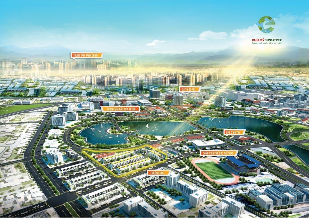 Phú Mỹ Eco City – Đẳng Cấp Tương Lai Của Một Đô Thị Hạng Nhất