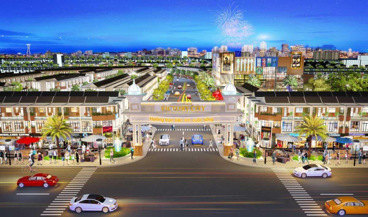 Phối cảnh Dự án Đất nền Victory City Tân Uyên Bình Dương
