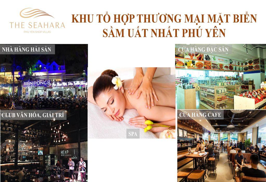 Dự Án The SEAHARA Phú Yên Shop Villa 2 Mặt Tiền View Biển 11