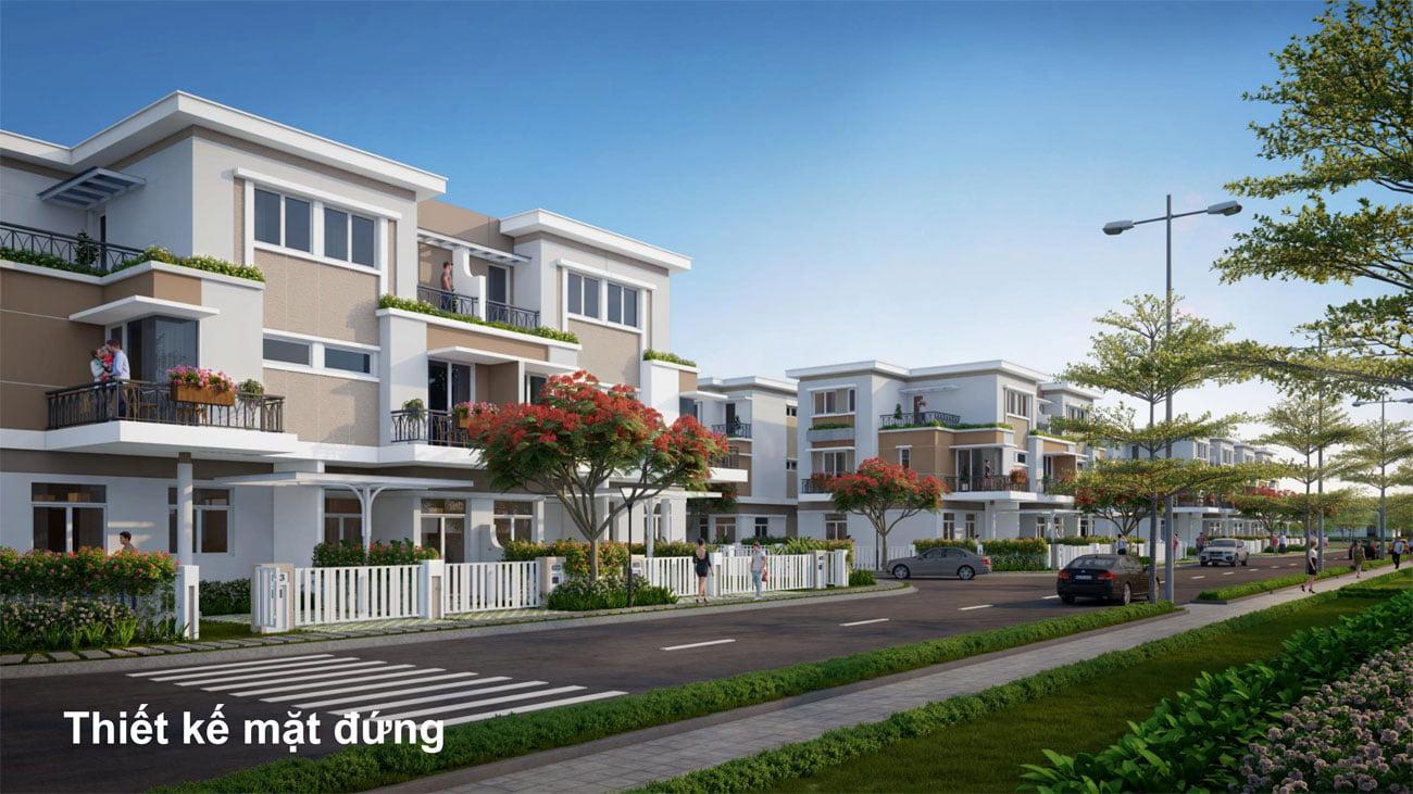 Phối cảnh tổng thể dự án nhà phố Lovera Premier Khang Điền Bình Chánh