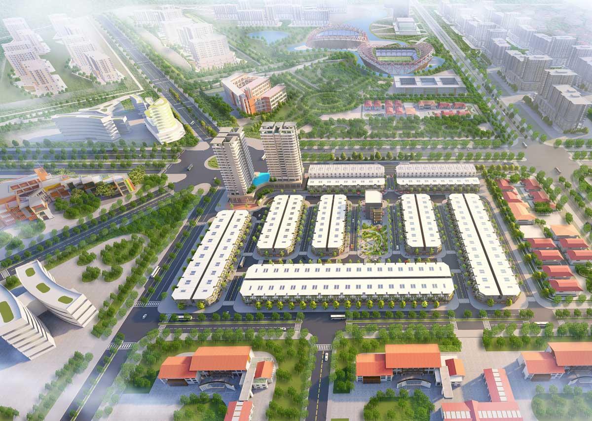 Dự án The Centre House Nhơn Trạch Đồng Nai