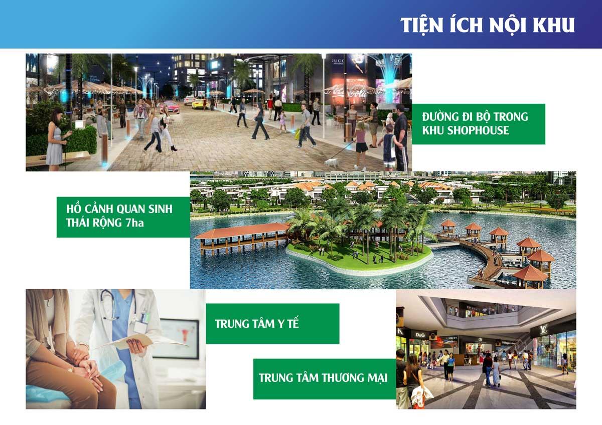Tiện ích nội khu Dự án Khu đô thị The New City Châu Đốc