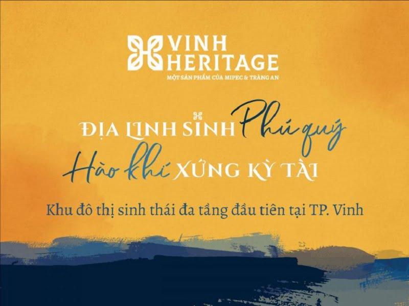 Ra mắt dự án Vinh Heritage Mipec Tràng An