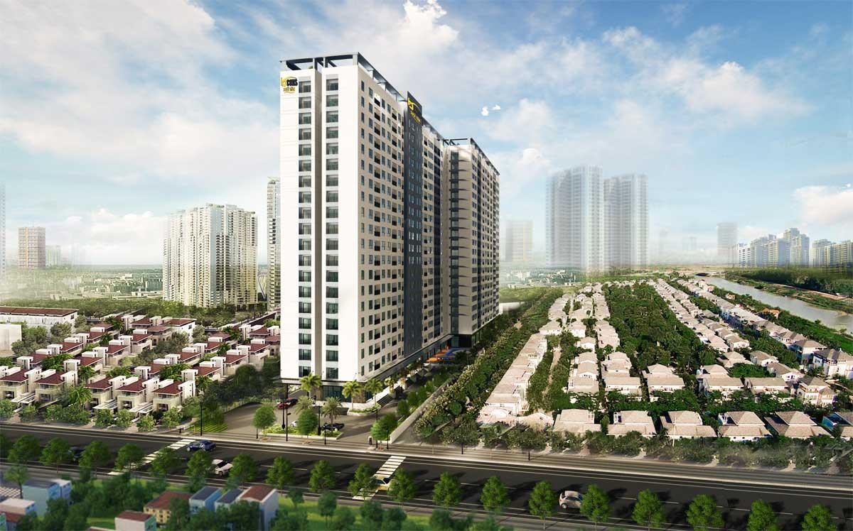 Dự án Căn hộ Chung cư Bcons City Dĩ An Bình Dương
