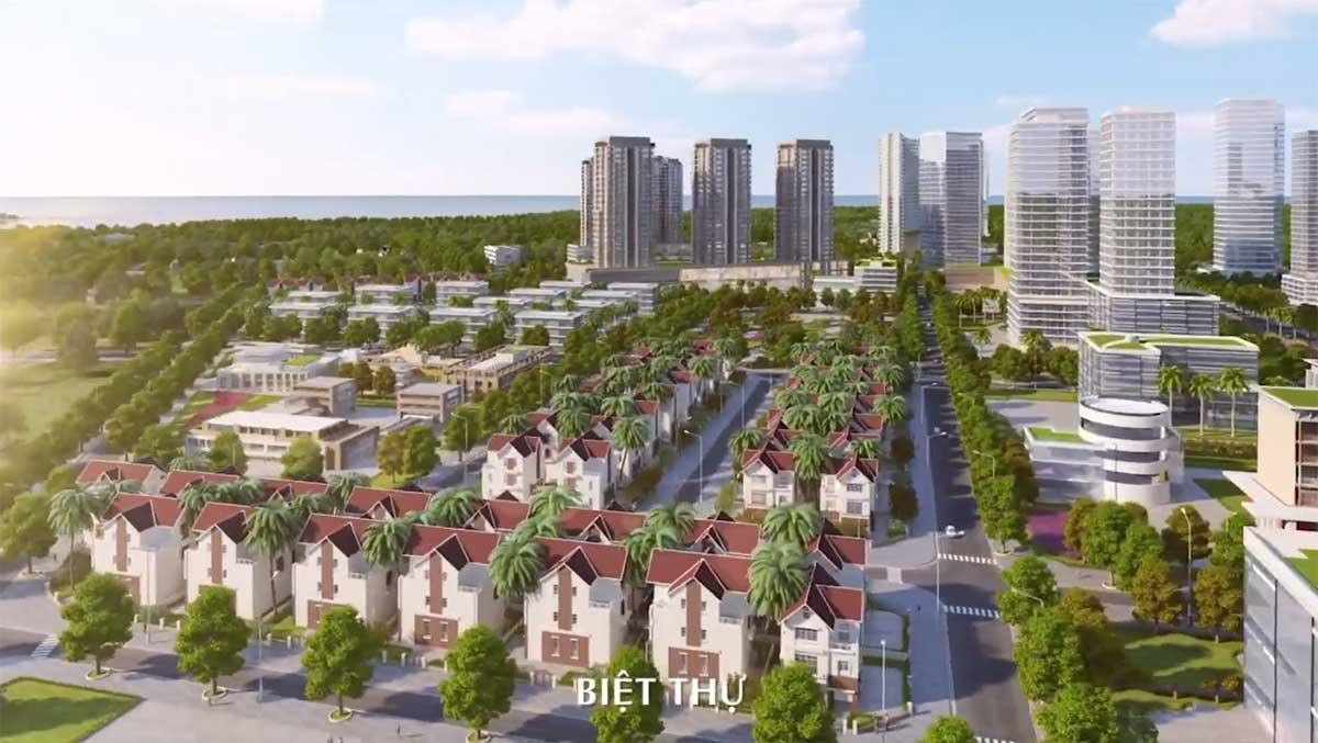 Khu Nhà Biệt thự Dự án Dic Solar City