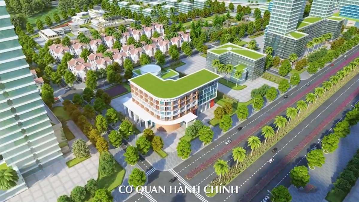 Khu Cơ quan hành chính Dự án Dic Solar City