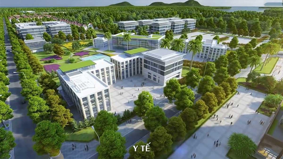 Khu Y Tế Dự án Dic Solar City