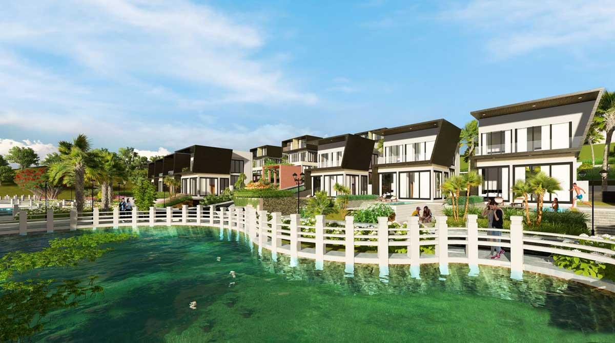 Hồ sinh thái tại Dự án Đambri Hill Village