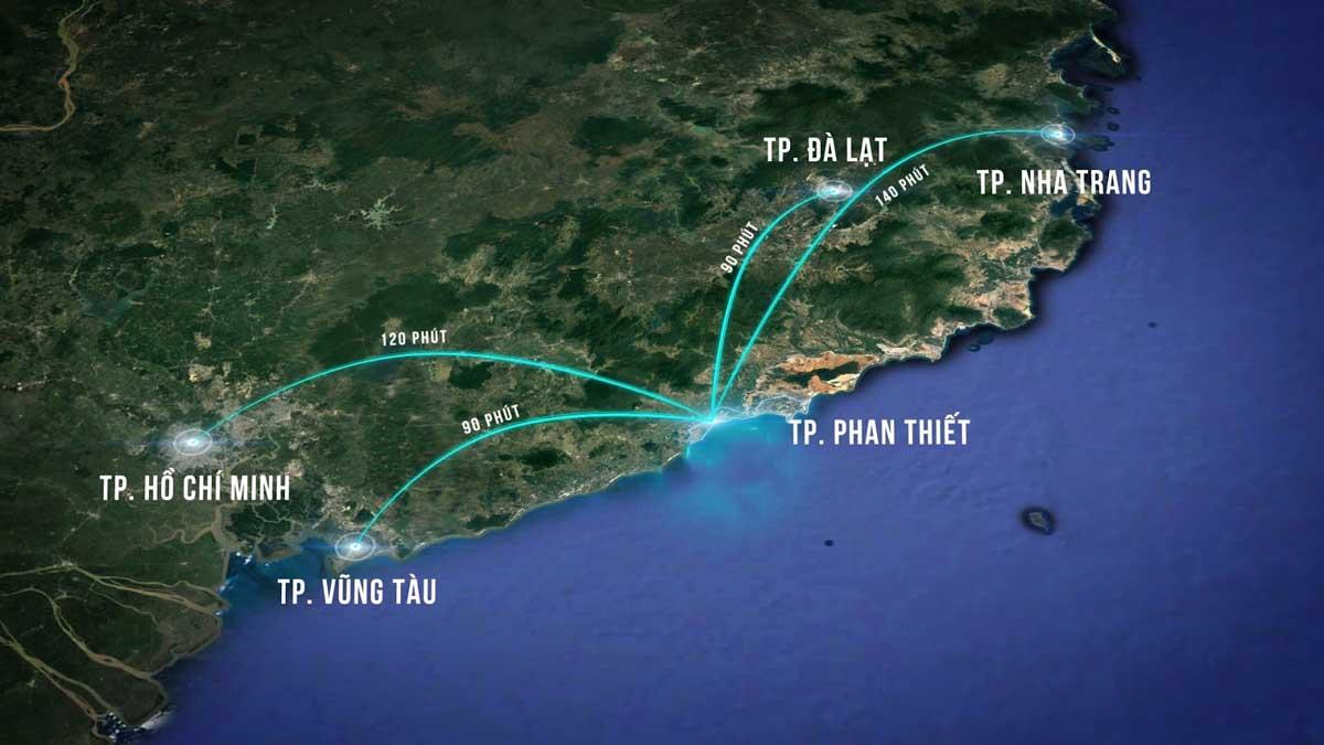 Vị trí Dự án King Sea Phan Thiết