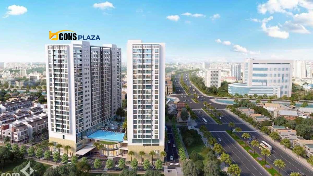 Dự án Căn hộ Chung cư Bcons Plaza Thống Nhất Dĩ An Bình Dương