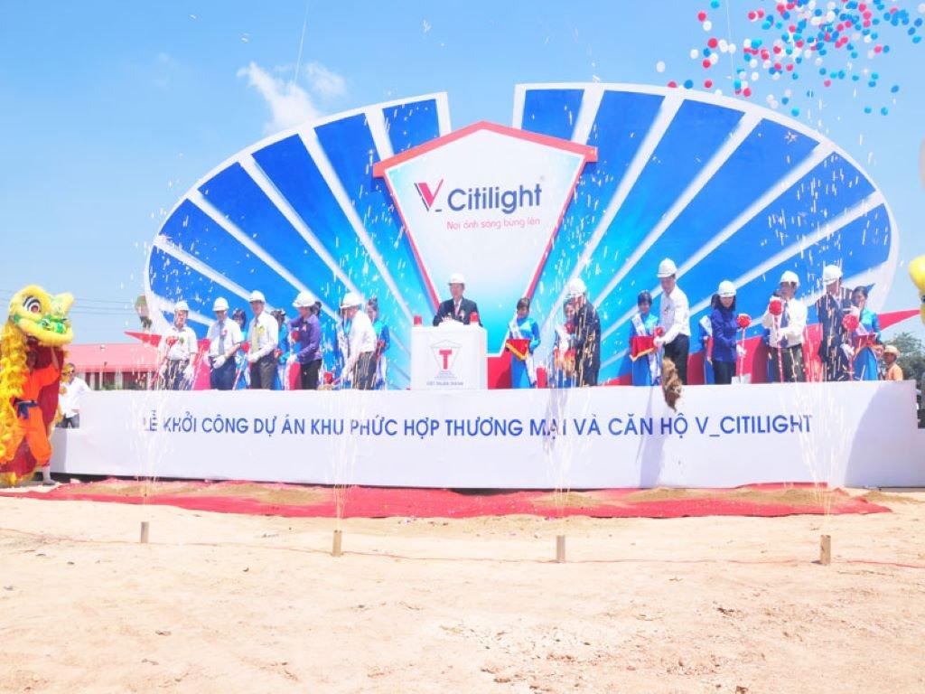 Lễ khởi công dự án Căn hộ V-CitiLight