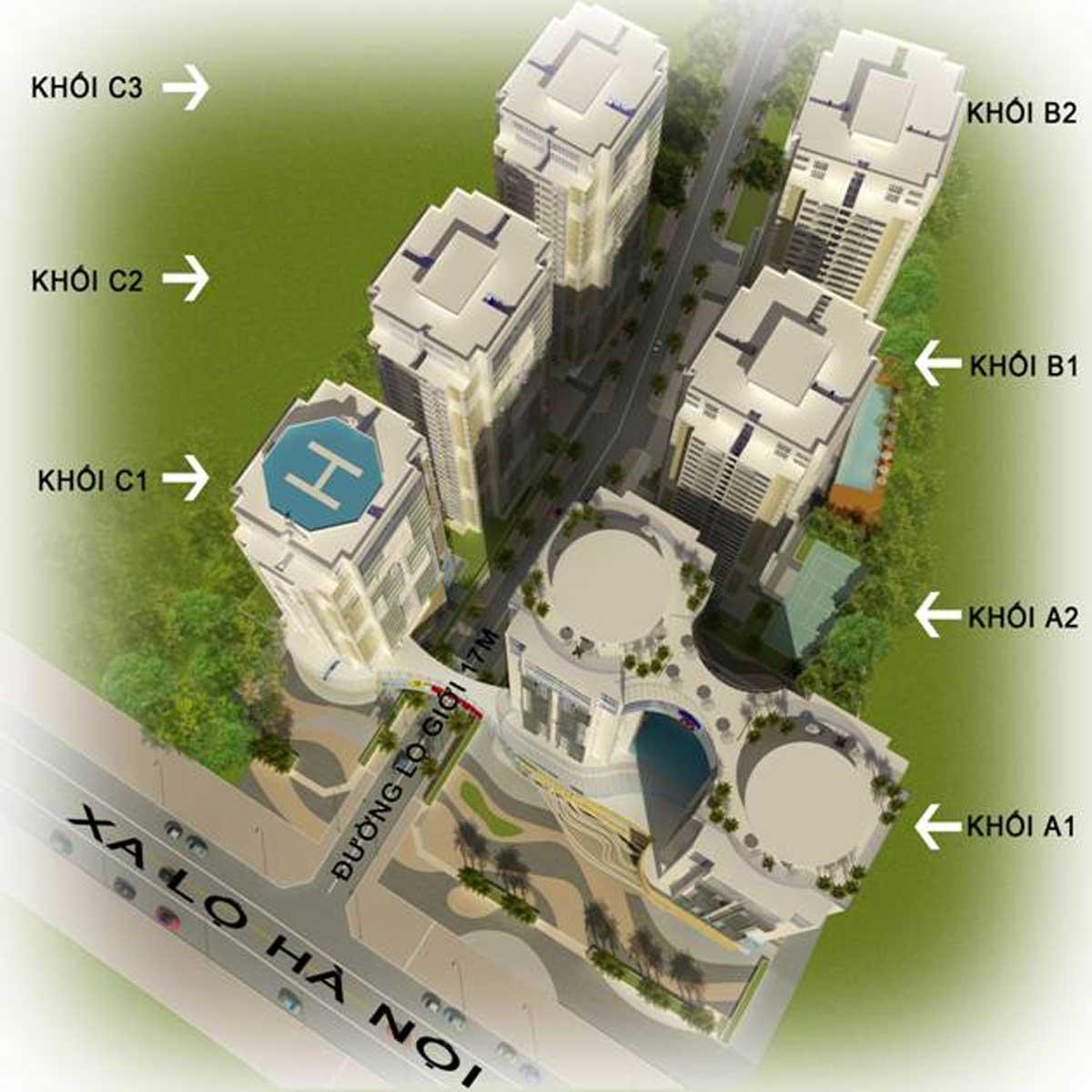 Mặt bằng Dự án Căn hộ V-CitiLight Biên Hòa