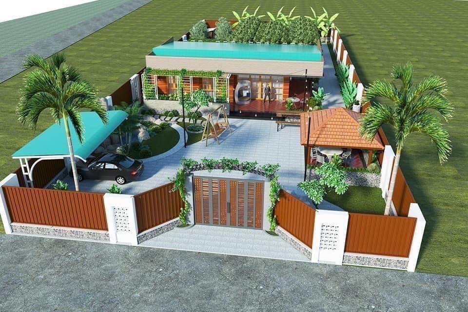 Thiết kế  nhà Farm House Lâm Đồng