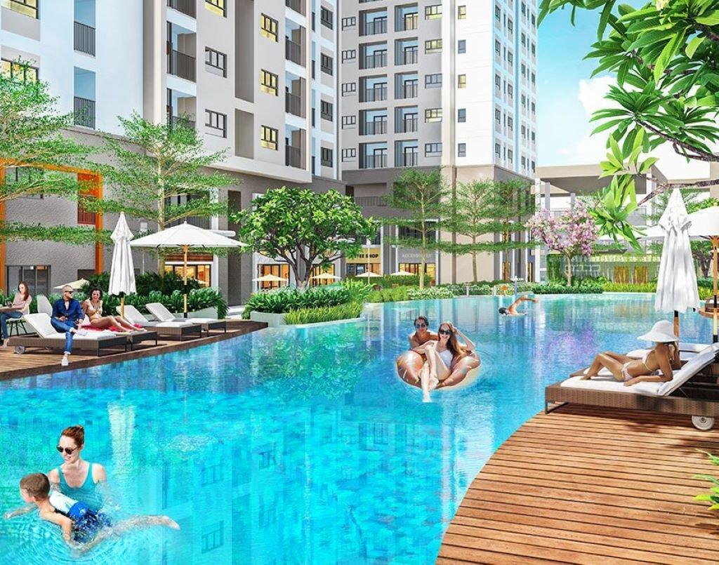 Tiện ích hồ bơi tại Chung cư V-CitiLight Biên Hòa Đồng Nai